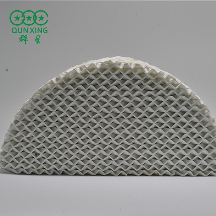 125Y陶瓷波紋填料 陶瓷波紋填料 精細化工用 群星