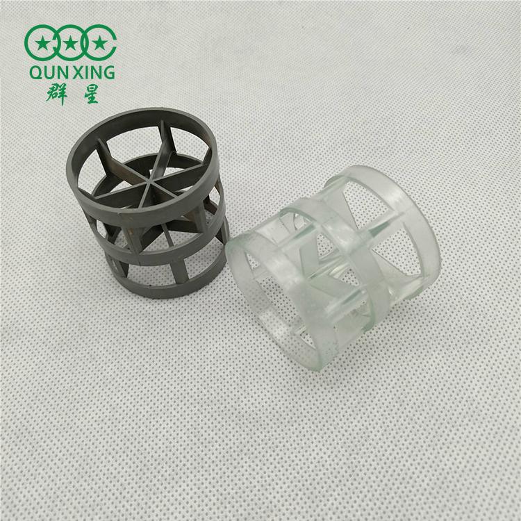 塑料鮑爾環填料 PP聚丙烯填料 25mm鮑爾環 河北群星