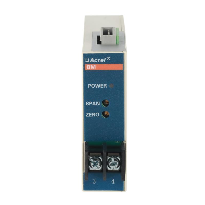 安科瑞模擬型號隔離器BM-DI/IS將0-5A變送輸出4-20mA