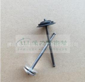 定制精密點膠閥撞針 精密一體式點膠針頭 高精密針頭座