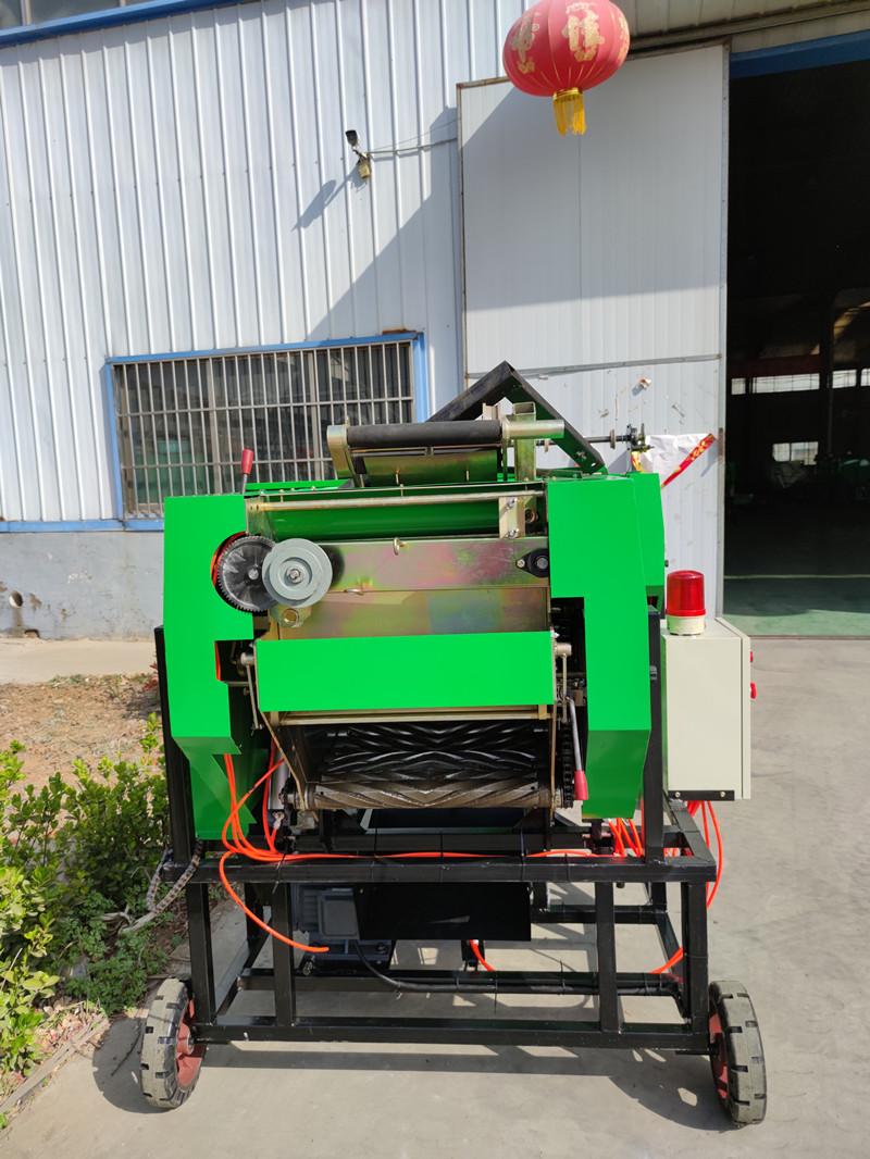 甘蔗葉青貯打捆機 秸稈青儲打包機