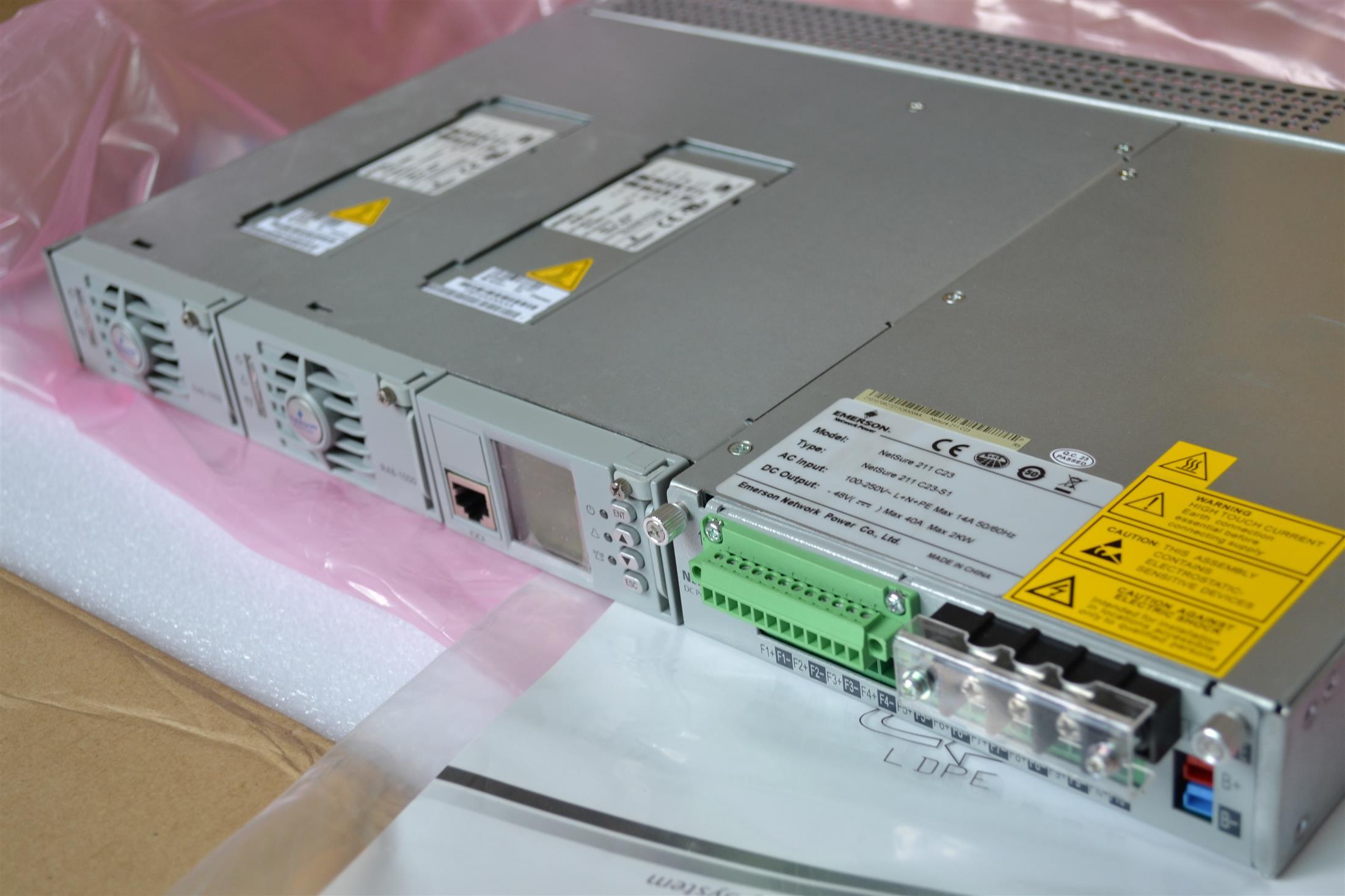 銷售與回收 昆明EMERSON艾默生NetSure211C46/C23通信電源