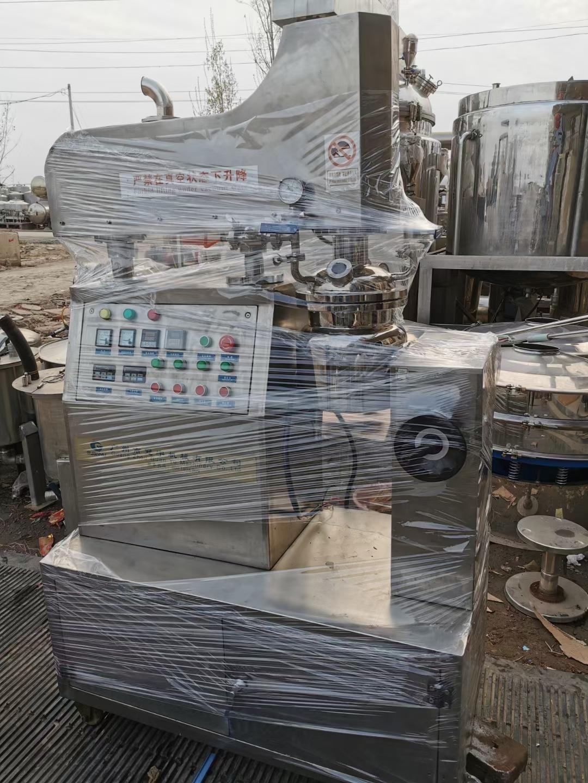 乳化机组 电话议价 出售二手300升真空乳化机出售