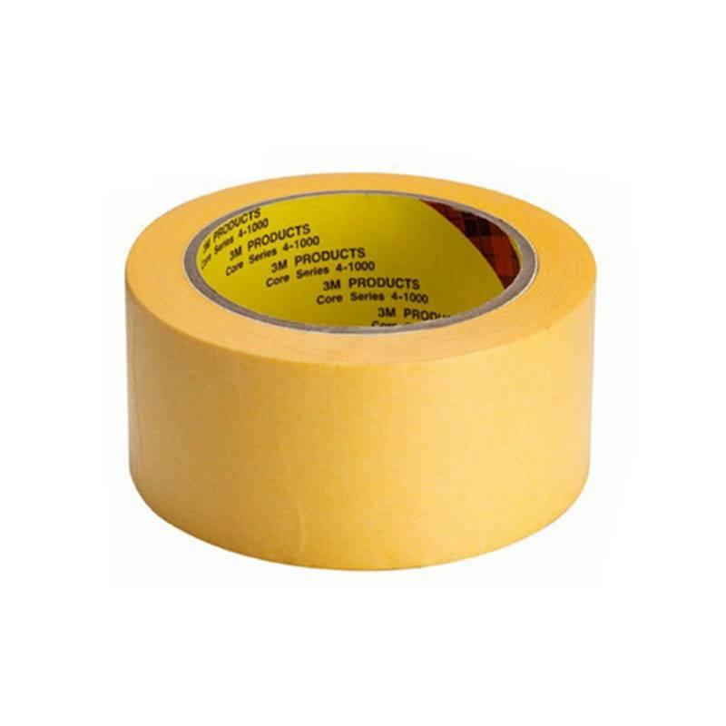 3m244美紋紙膠 無痕手撕噴漆遮蔽和紙膠 耐高溫線路板防焊保護膠帶