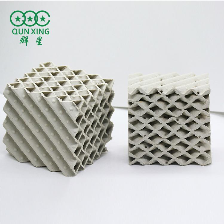 550Y波紋填料 陶瓷波紋填料 規整填料 萍鄉群星