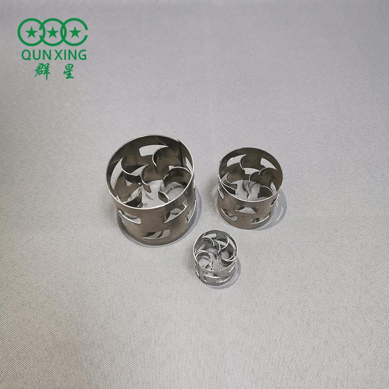 25mm金屬鮑爾環 304不銹鋼鮑爾環 鮑爾環填料廠家 群星