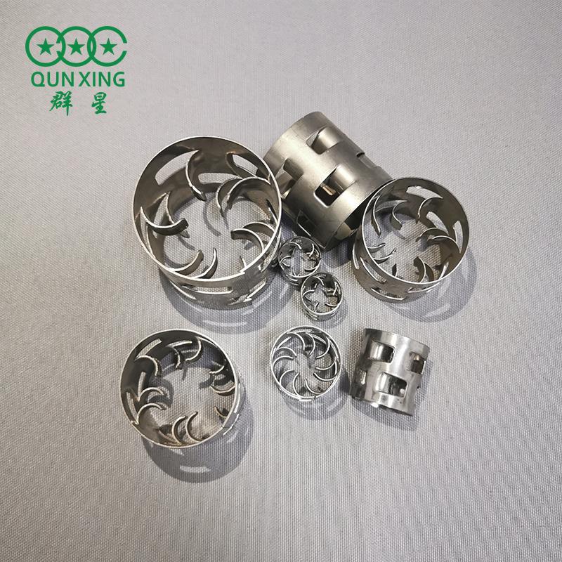 16mm金屬鮑爾環 304不銹鋼鮑爾環 鮑爾環填料廠家 群星
