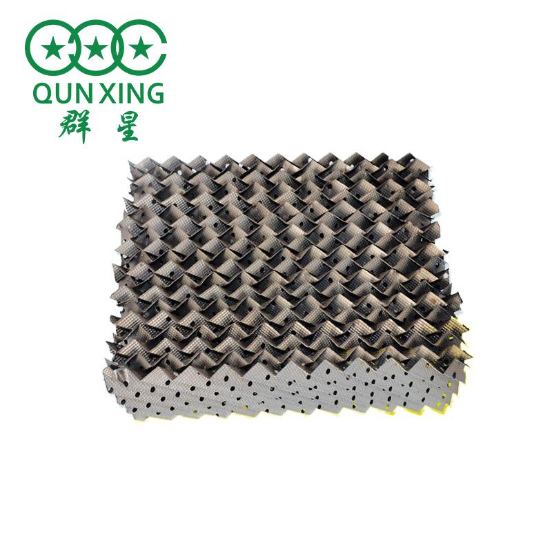 生產不銹鋼壓延刺孔板波紋規整填料 金屬孔板波紋填料 規整填料 群星
