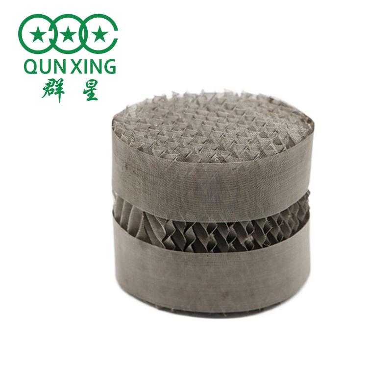 金屬絲網波紋填料500Y型 不銹鋼規整填料網孔波紋 萍鄉群星供應