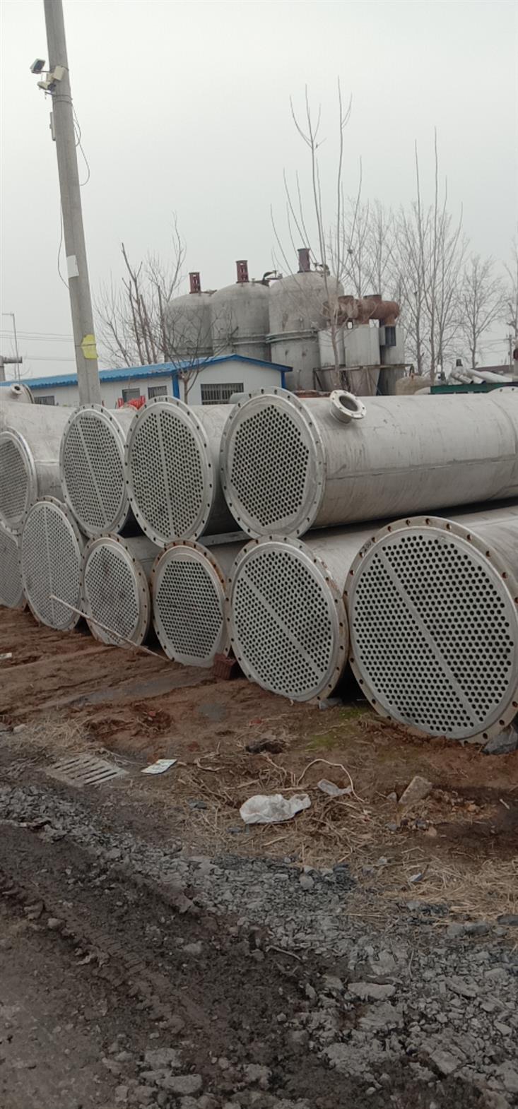 淄博转让二手不锈钢冷凝器厂家
