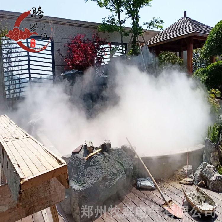 紹興景區噴霧景觀設備 加濕降溫