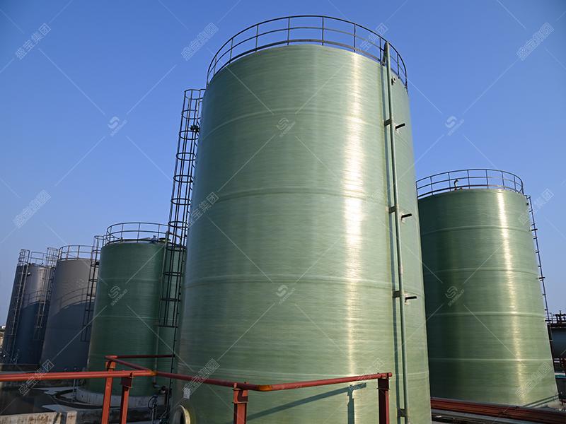 玻璃鋼臥式儲罐公司 棗莊鋼化玻璃儲罐 玻璃鋼酸罐廠家
