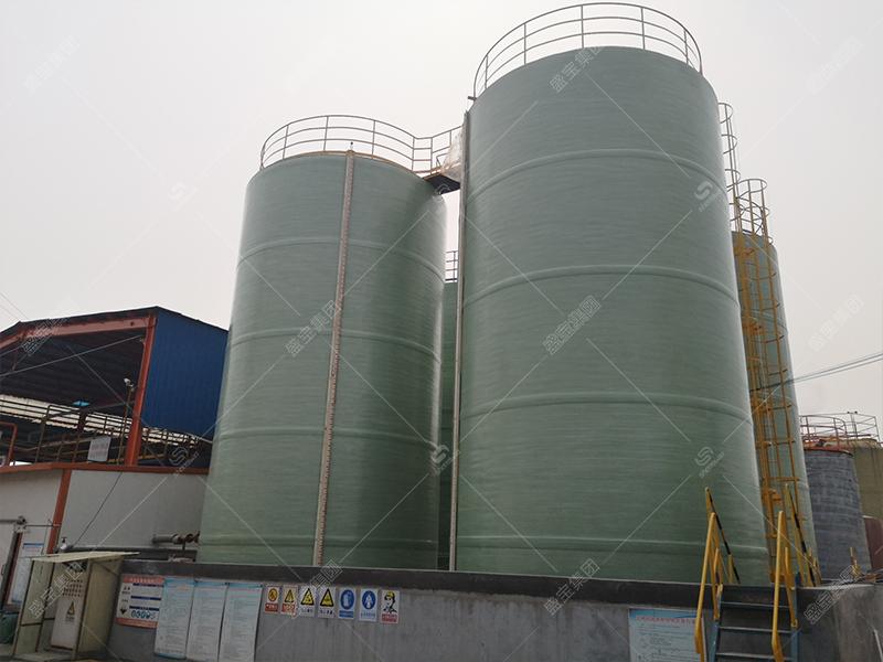 玻璃鋼廠儲料罐 玻璃鋼大罐價格