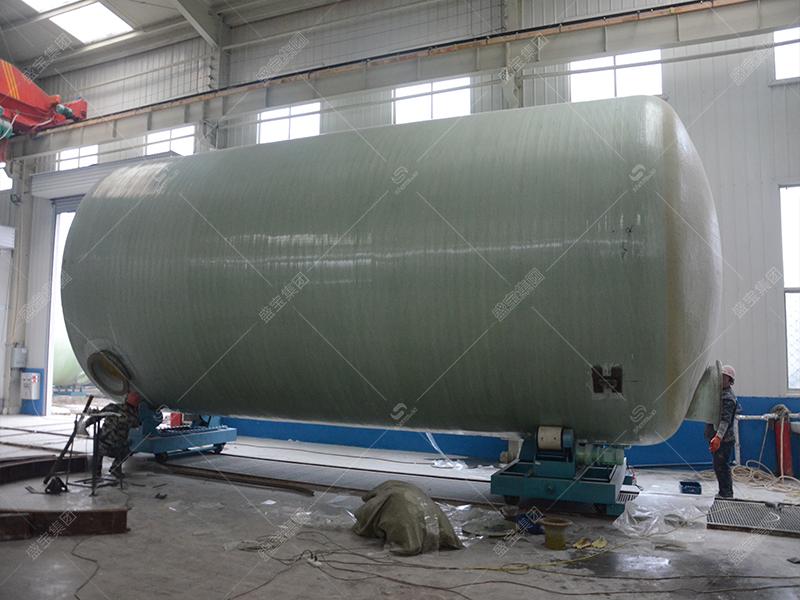 玻璃鋼廠儲料罐