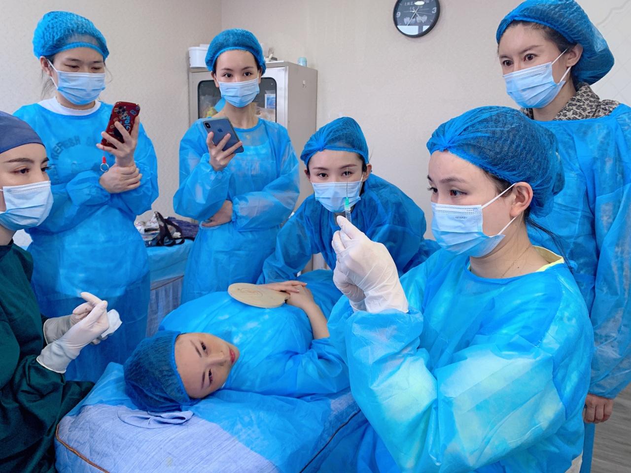 苏州针剂线雕双眼皮培训机构厂家