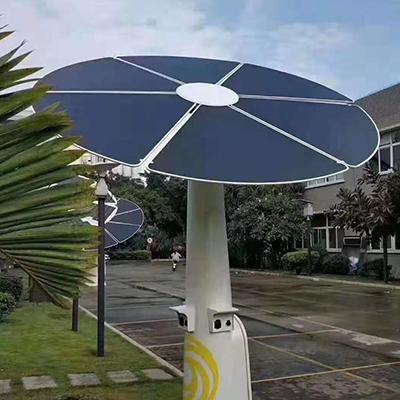 太陽能發電花首信智享太陽能光伏花