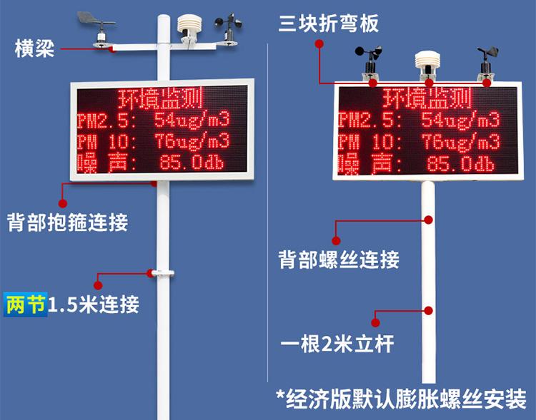 广州工地扬尘监测设备价格