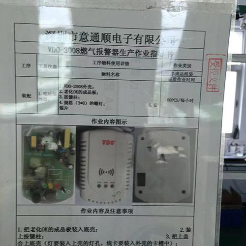 意通順-廚房燃氣報警器 煤氣報警器生產批發 量大優惠