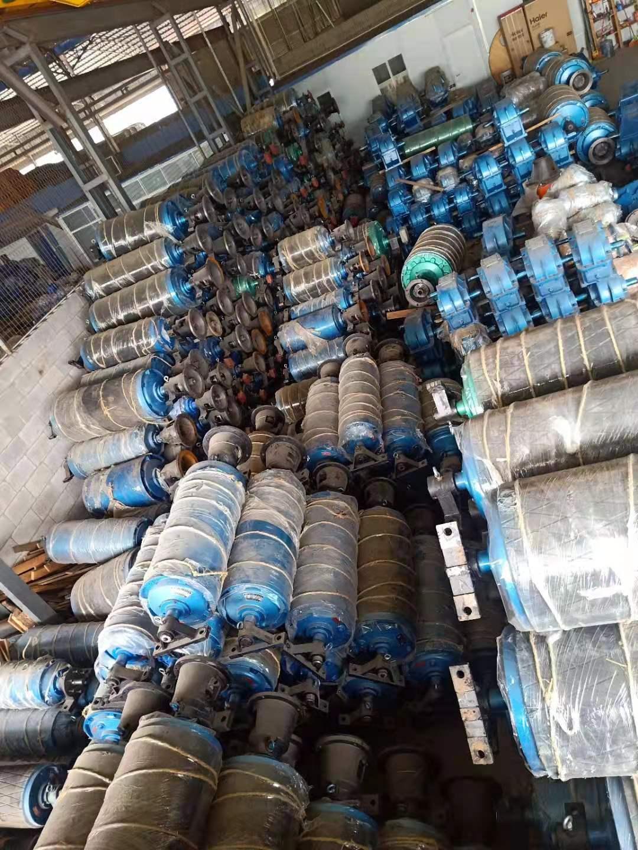 500-1000-18.5kw電機外裝包膠電動滾筒