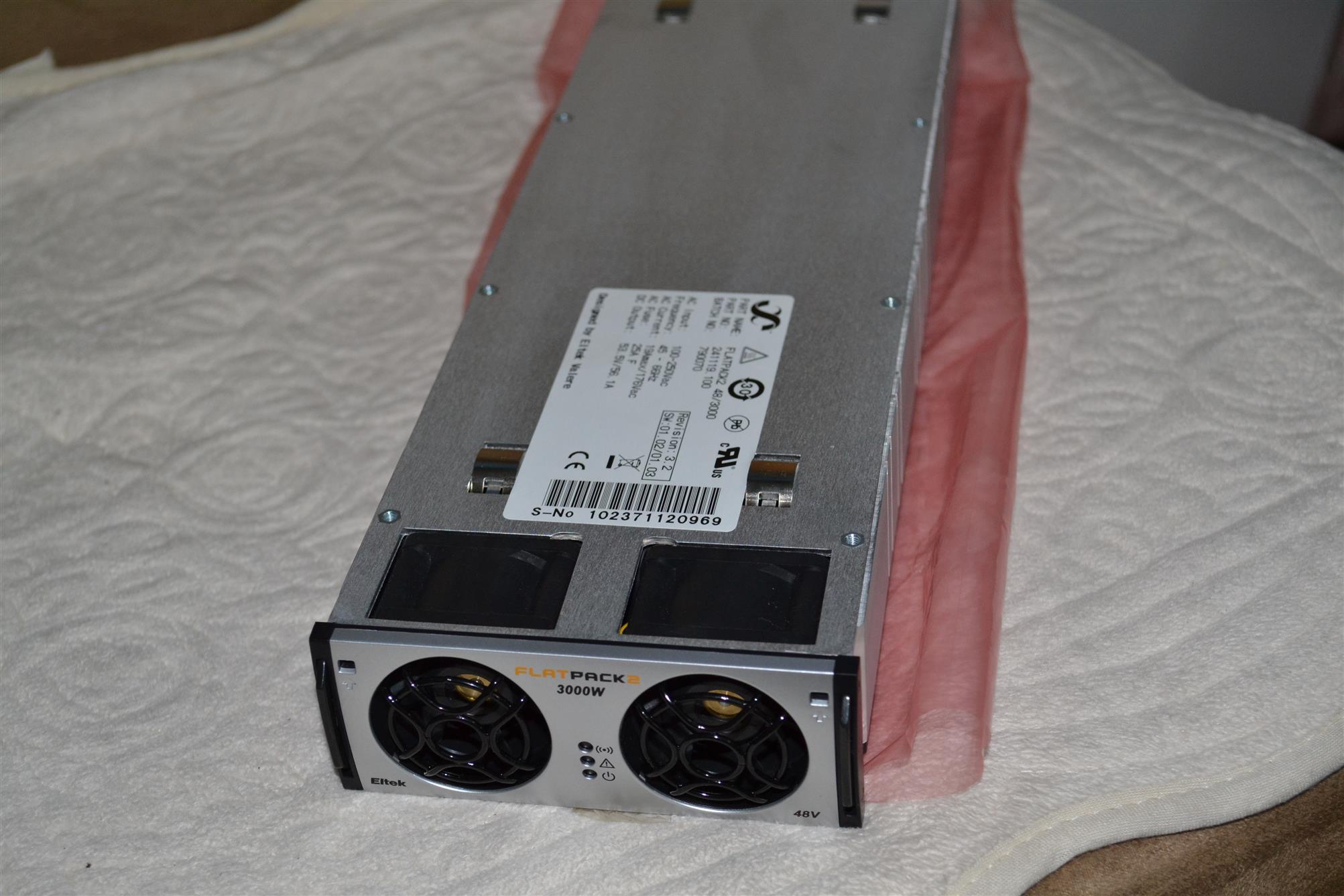 易達FLATPACK2 2880 48V整流模塊 通信電源