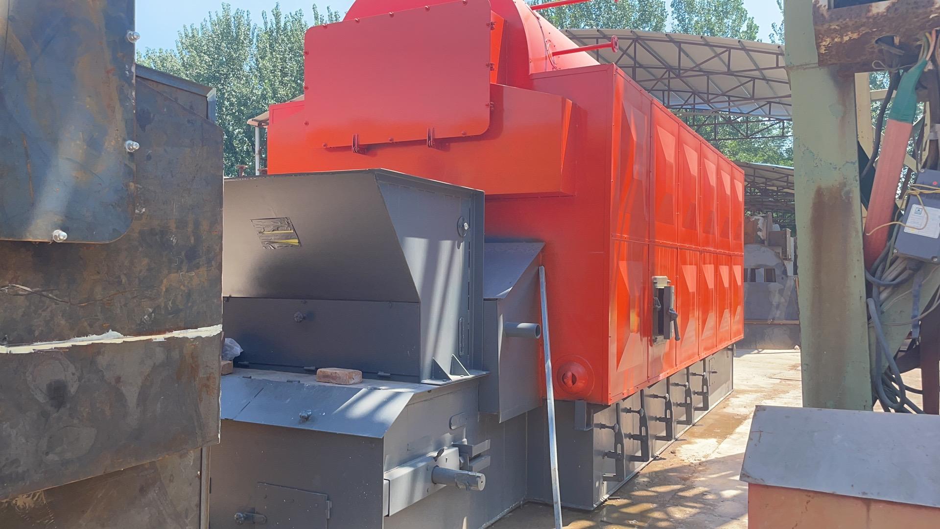 柳州12吨生物质蒸汽锅炉