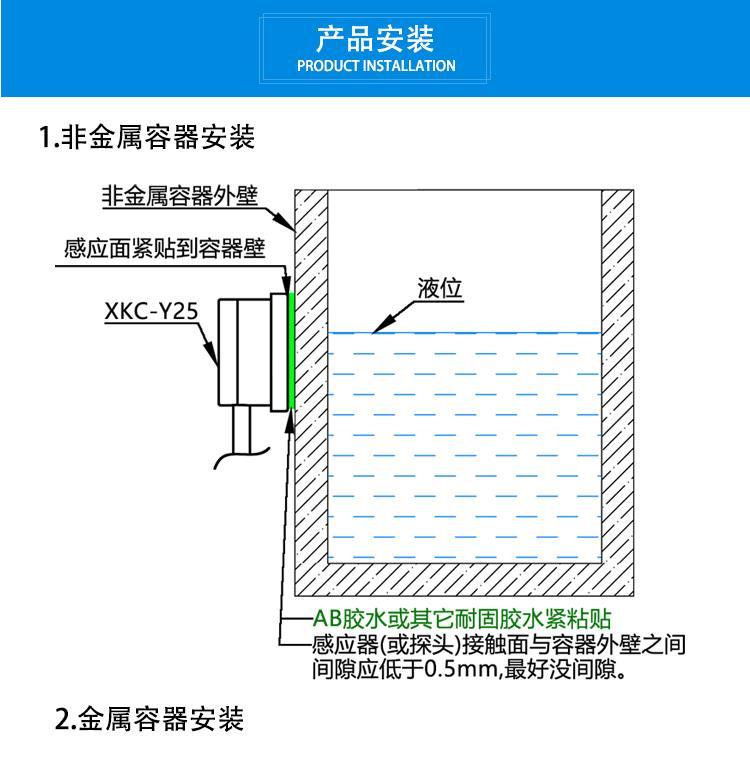 非接觸水位傳感器供應