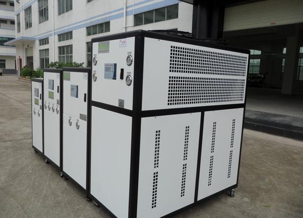 6p風冷式工業冷水機 低溫冷凍機組 小型電鍍冰水機