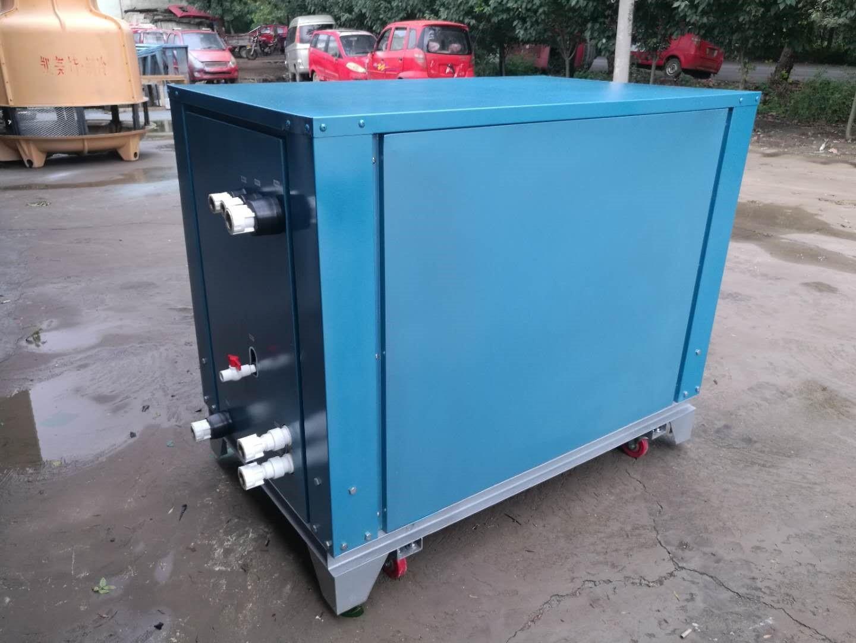 振動小 攪拌站混凝土水冷螺桿式冷水機冷熱一體機