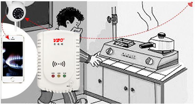 燃氣報警器鋼瓶機械手切斷報警裝置 鋼瓶機械手*可燃氣體報警裝置