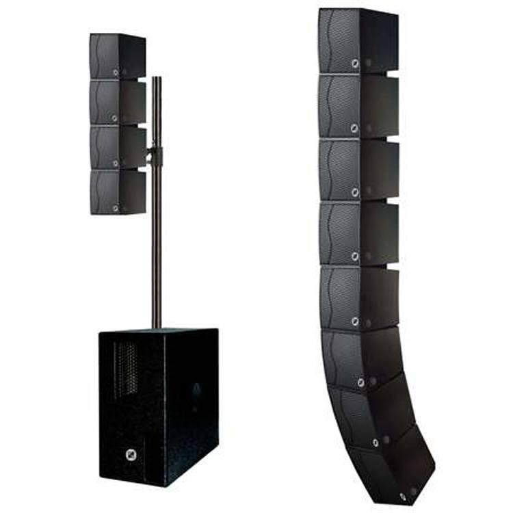 MQ-208B 雙8寸線陣次低音箱 微型陣列音箱 多功能線陣音箱 移動便捷式陣列揚聲器