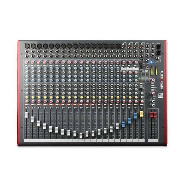 Allen&Heath ZED-22FX 22路二編組現場混音調音臺 USB接口效果調音臺