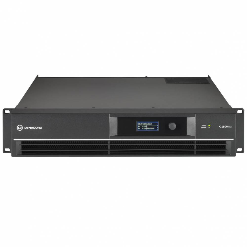 Dynacord C1800FDi DSP功率放大器 數字功放 網絡功放 數字化定阻定壓程式驅動功放