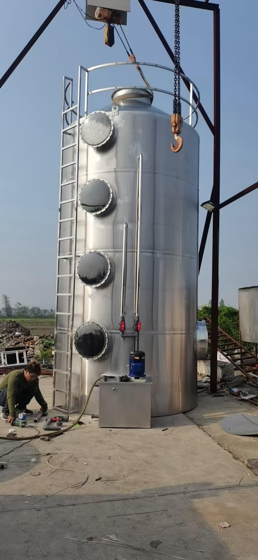 樟木头喷漆废气处理设备