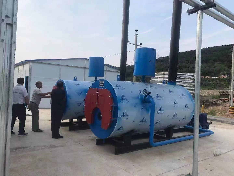 鹤岗15吨燃气热水锅炉生产厂家