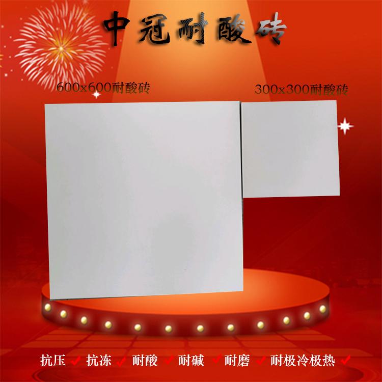 耐酸磚廠家批發 山西30020化工釉料耐酸磚價格6