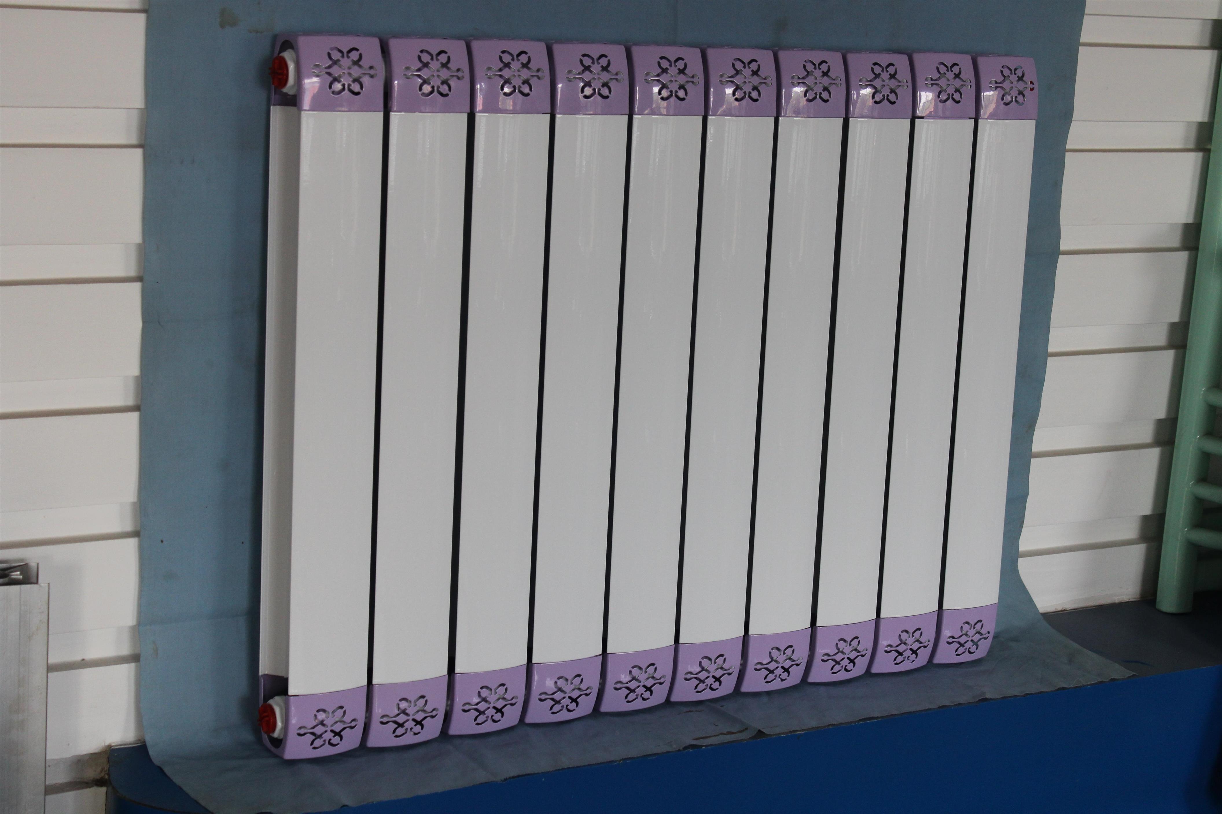 石家庄钢制暖气片安装