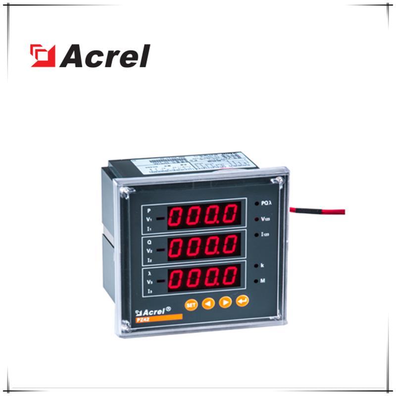 安科瑞 液晶顯示三相電流表 PZ96L-AIC