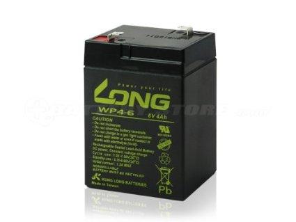 LONG蓄电池WP4-6/6v4ah 电子秤 计价秤 台秤 玩具车电池