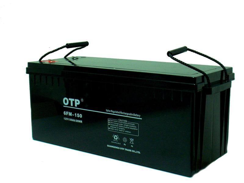 OTP蓄电池6FM-100JT免维护密封铅酸蓄电池12V100AH/20HR