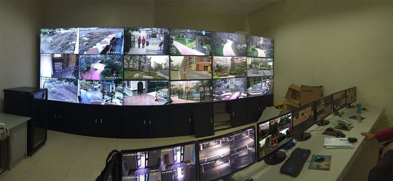 大屏幕拼接电视墙_46寸液晶电视墙,可拼接的显示器