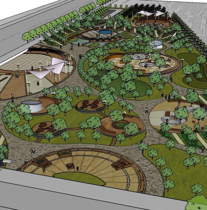 阎良区知名风景园林设计促销 只为更好服务客户