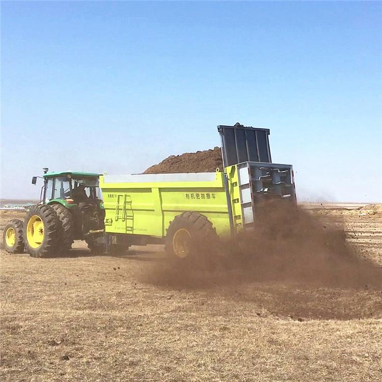 厂家直销农用拖拉机后传动撒肥机 四轮车动力输出撒粪机