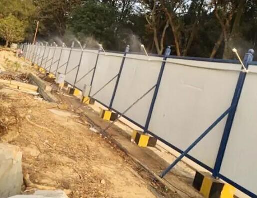 云南昆明建筑工地塔吊喷淋系统销售
