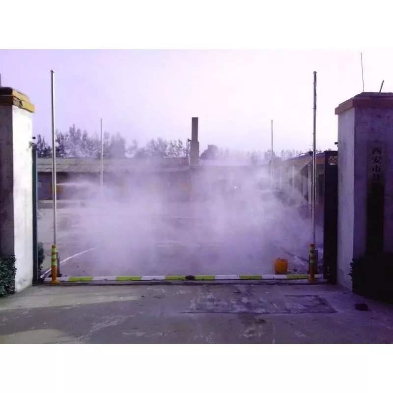 南充车辆消毒通道厂家 屠宰场消毒通道 适用于公共场所